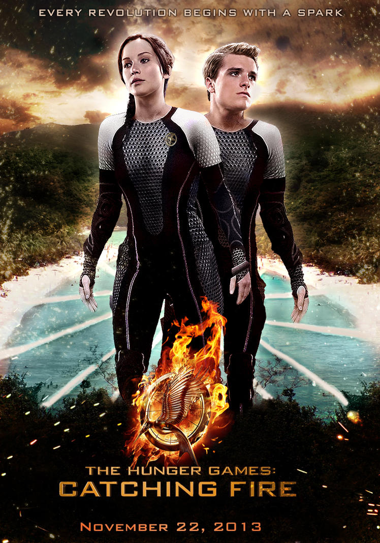 "Movie Fan Magazines: 21 Fan-Made ""Catching Fire"" Movie Posters You Have To See"