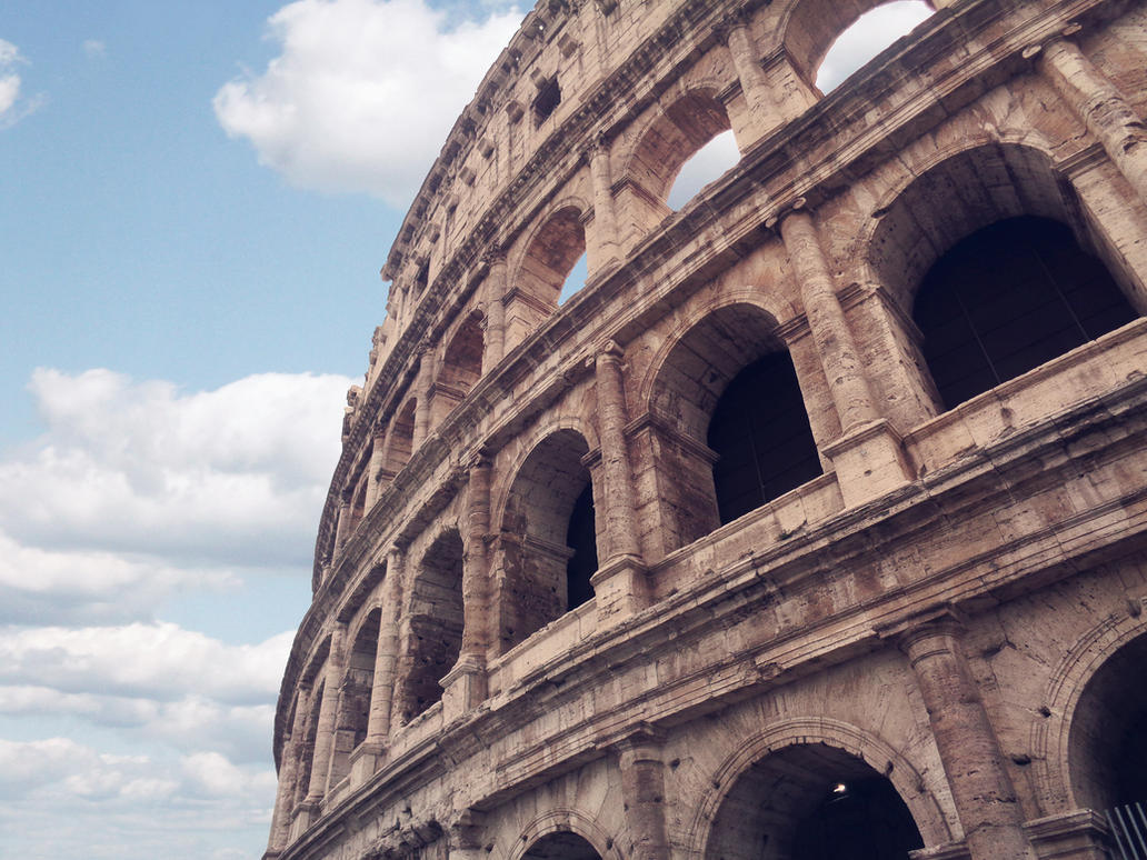 Il Colosseo (The Colosseum) by marty-mclfy