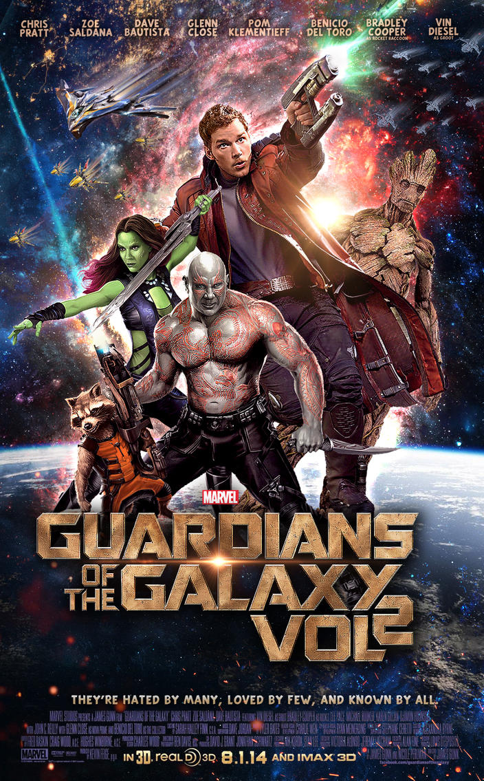 Guardians of the galaxy vol 2 by marty mclfy on deviantart