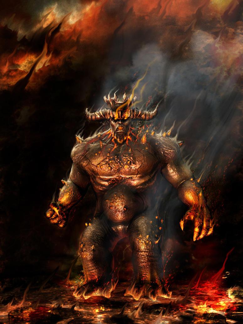 Dantes's Inferno by BostinInShadows