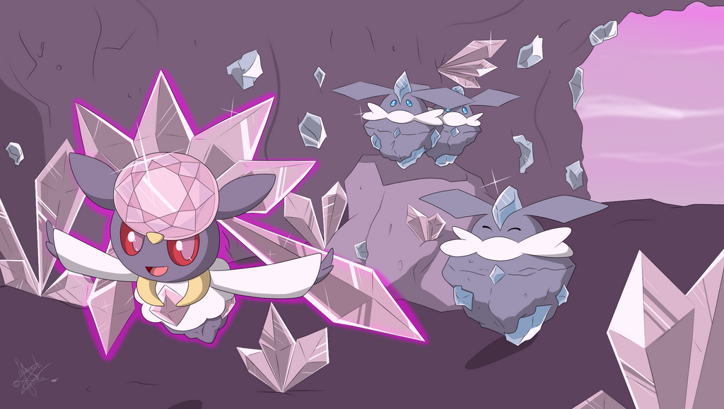 Diancie And Carbink | www.imgkid.com - The Image Kid Has It!
