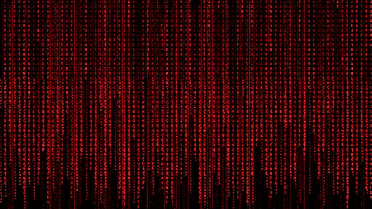 Red Matrix Wallpaper by WoodyDotNet on DeviantArt