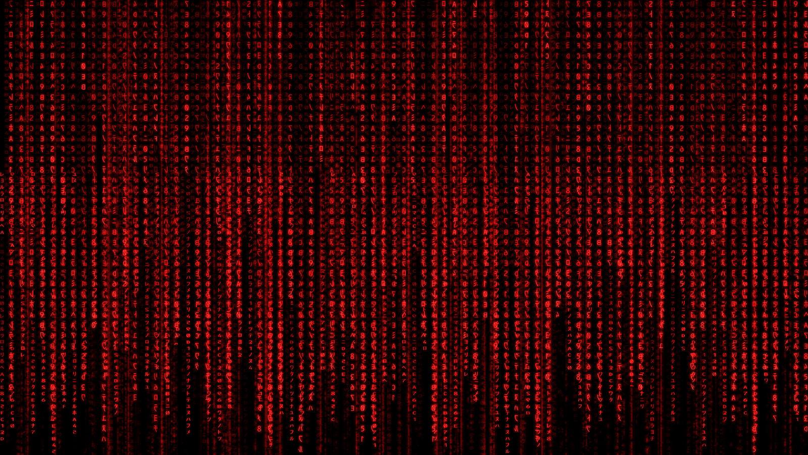 red matrix wallpaper moving - photo #1