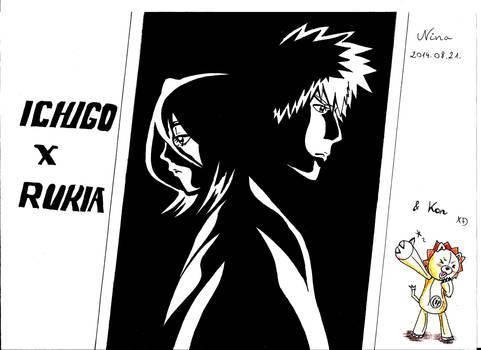 Ichigo X Rukia ...and Kon