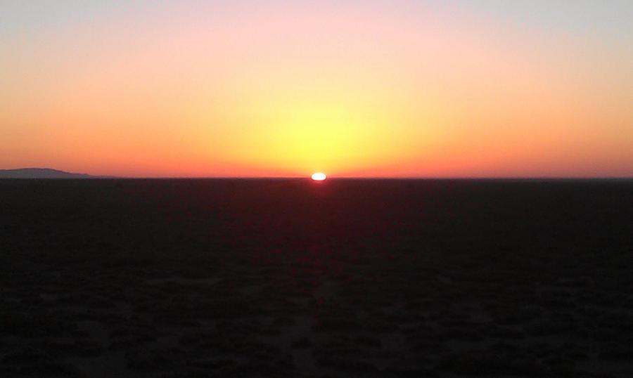 Sahara Sahara Sunrise