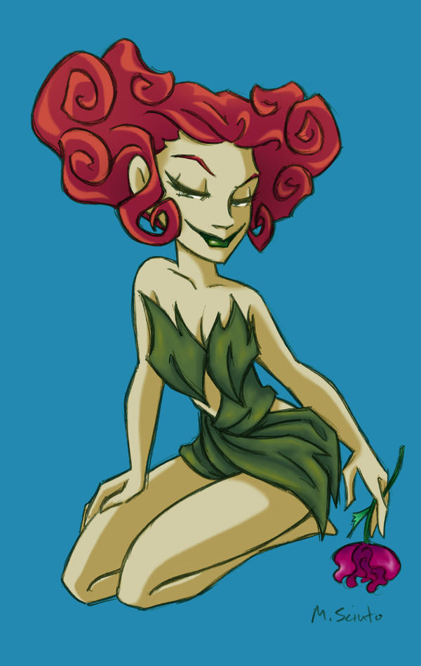 The Batman's Poison Ivy by msciuto