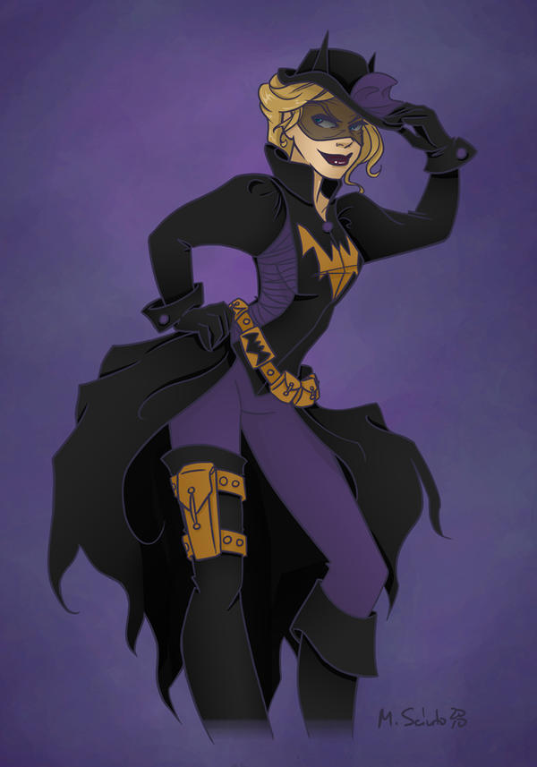 19th Century Batgirl by msciuto