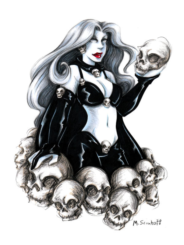 Lady Death by msciuto