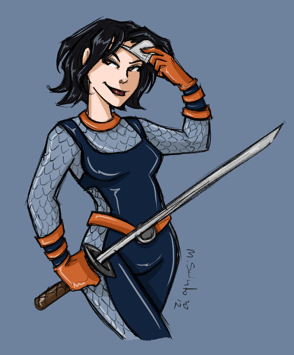 Cass as Ravager by msciuto