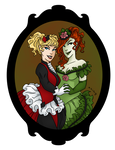Neo Victorian Harley and Ivy