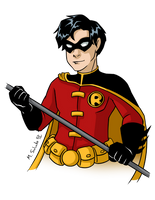 Robin: Tim by msciuto