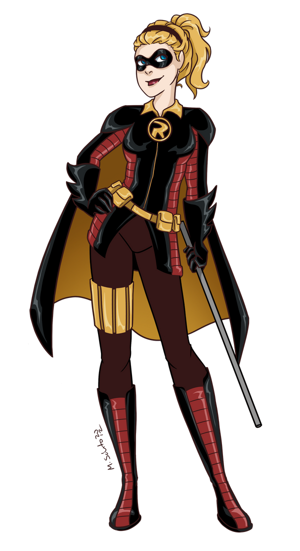 Robin Steph Redesign by msciuto