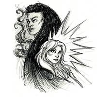 Cloak and Dagger by msciuto
