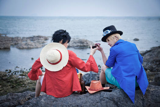 2012/2/6 one piece_luffy(Ace`s death anniversary)