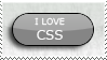 I love CSS Stamp by GillsDigitalWorld