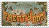 Pretty. Odd. Stamp by derserogue