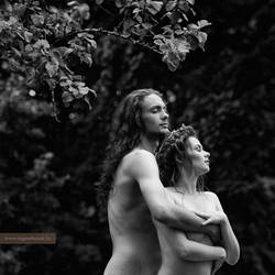 Adam and Eve by eugenebuzuk