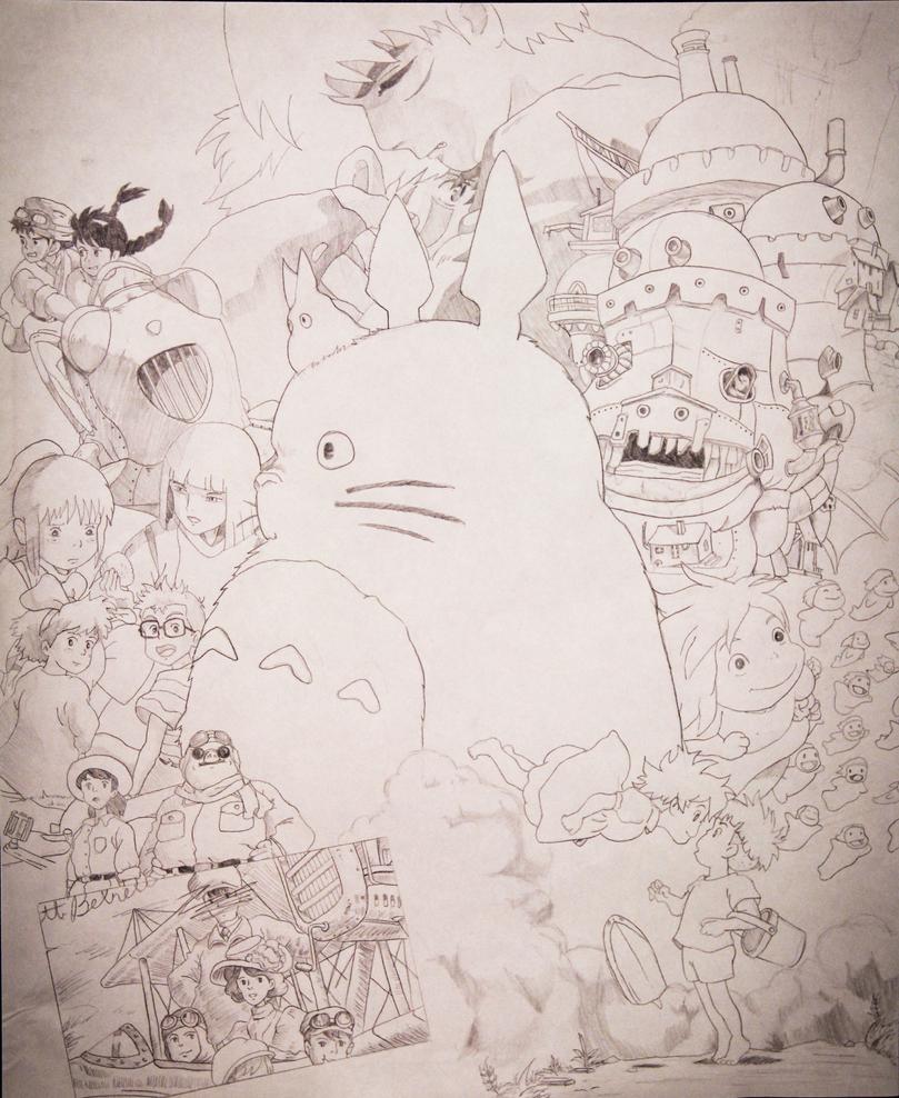 Miyazaki Collage by DNavasak on DeviantArt