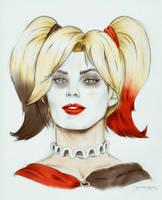 Margot Robbie/ Harley Quinn by DNavasak