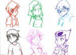 CL color sketches :D