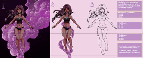 Comissions are opened! :-)