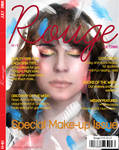 Rouge magazine cover design