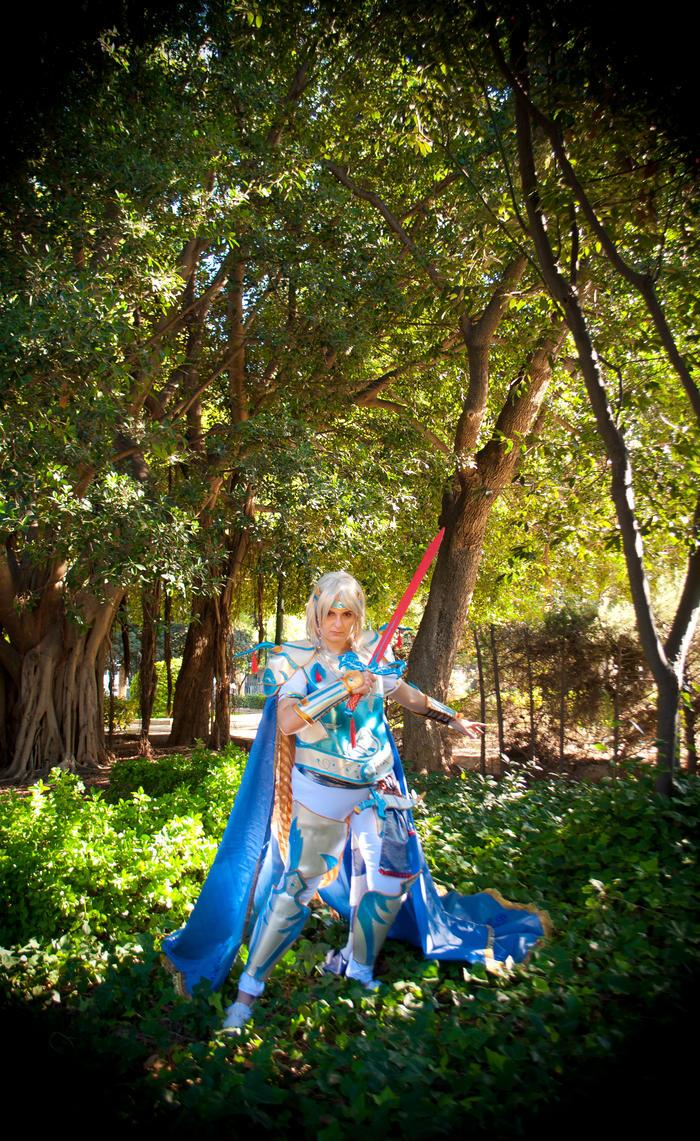 Cecil Harvey - Final Fantasy IV Amano Version by IrethMinllatur