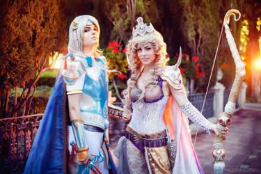 Final Fantasy IV - Sunset by IrethMinllatur