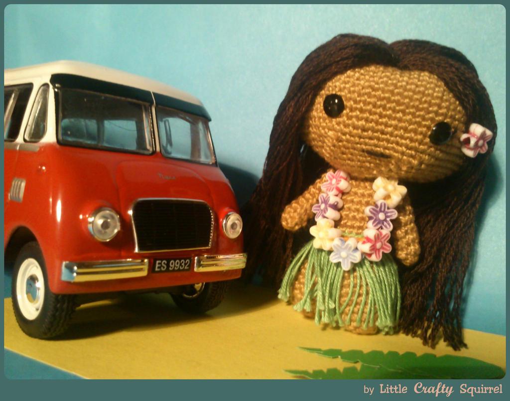 Amigurumi Hawai Doll : Hawaiian amigurumi girl by littlecraftysquirrel on deviantart