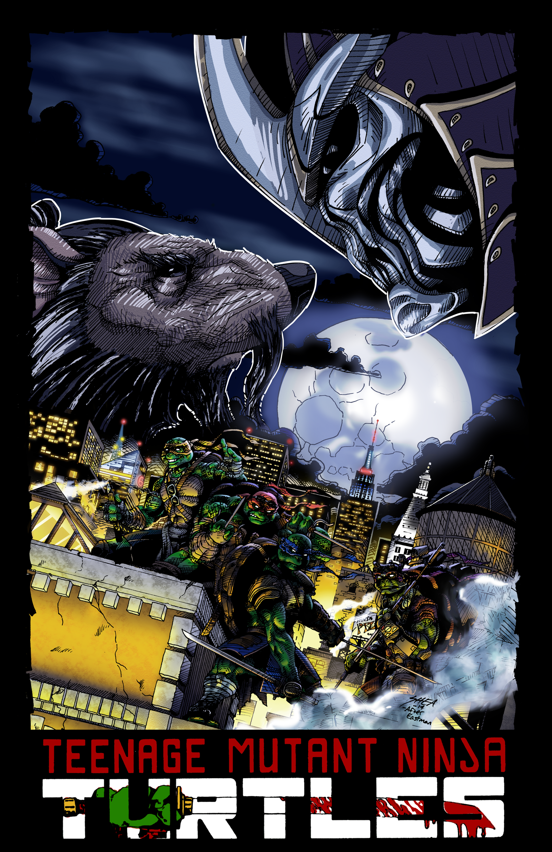 Ninja Turtles Poster Logo by SheaLambert on DeviantArt