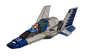 SF F-Zero Crossover: Wyvern by sleddog116