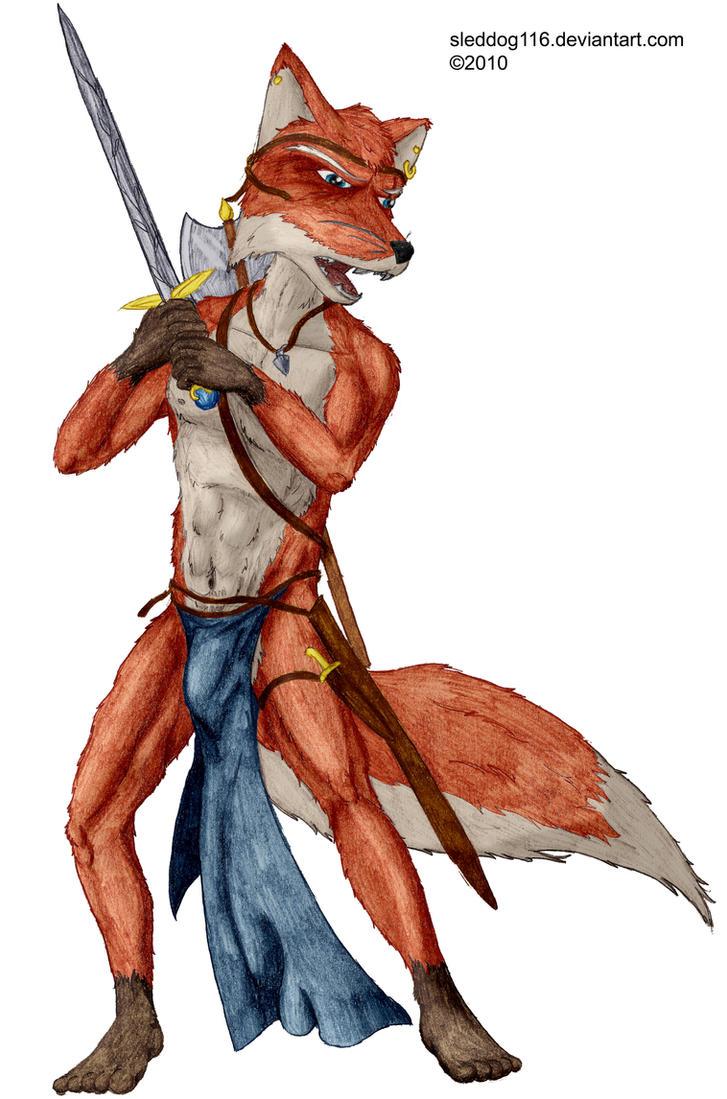 Fox Warrior 2 by sleddog116Fox Girl Warrior