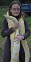 Yellow scarf by Sauroctonus