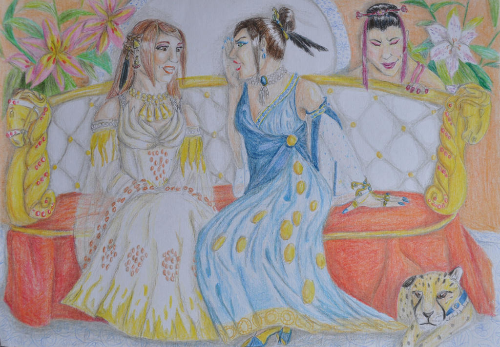 Highborn gossips by Sauroctonus