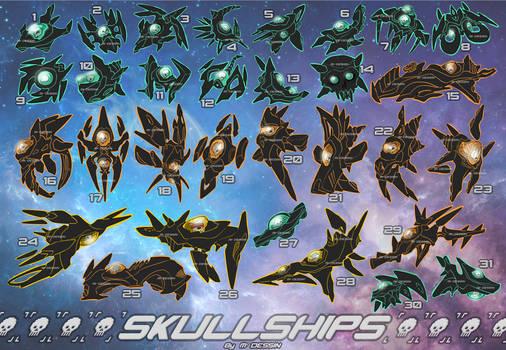 [24/31 OPEN Set price] Skullships [#212-243]