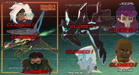 [CLOSED] Spaceships + Riders 2.0 [#400-406]