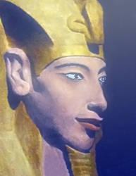 Pharaoh Akhenaten by maze70