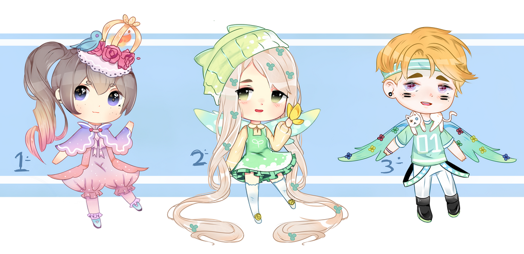 Adoptable [137-138-139] AUCTION [3/3 OPEN] by Lumiere-Martinez