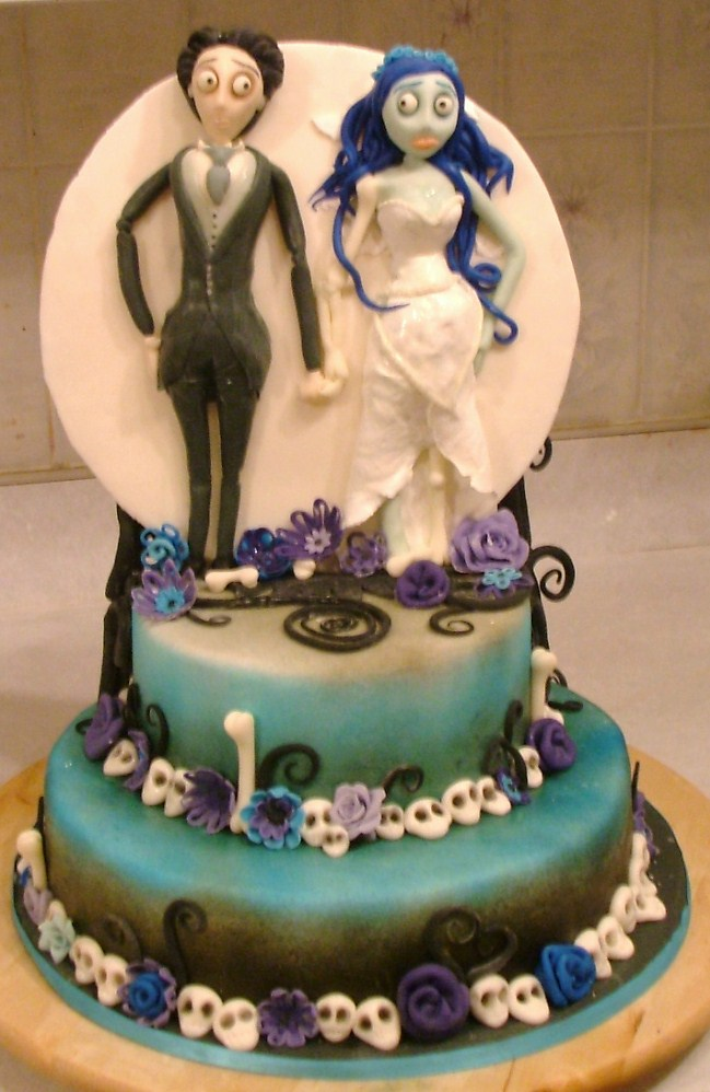 corpse bride wedding cake topper corpse cake by rubberpoultry on deviantart 12953