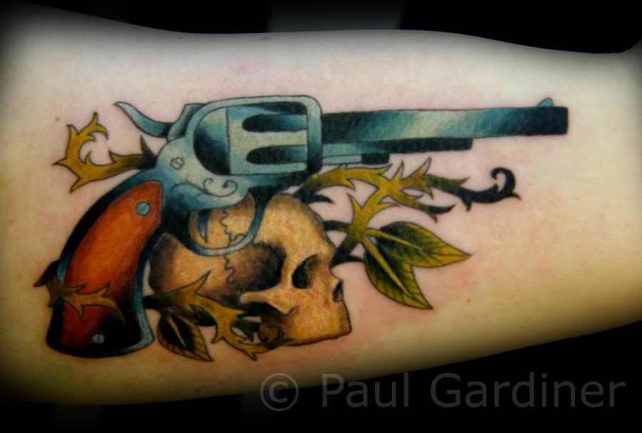 Skulls And Guns Tattoos: Tattoo Design Most Popular Art: Tattoo Ideas By Eileen Swaney