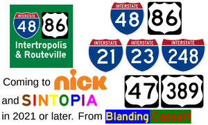 Intertropolis and Routeville coming to Nicktopia