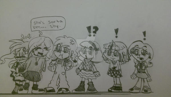 human mane 6 kids by sonicxfanjas126