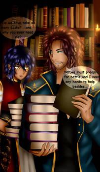 OC Hareya and Magnus (page1)