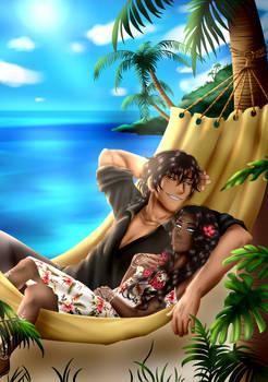 OC Damien and Azura