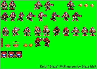 Blaze Sheet mk. 6 (Megaman style ver.) by MM19872008