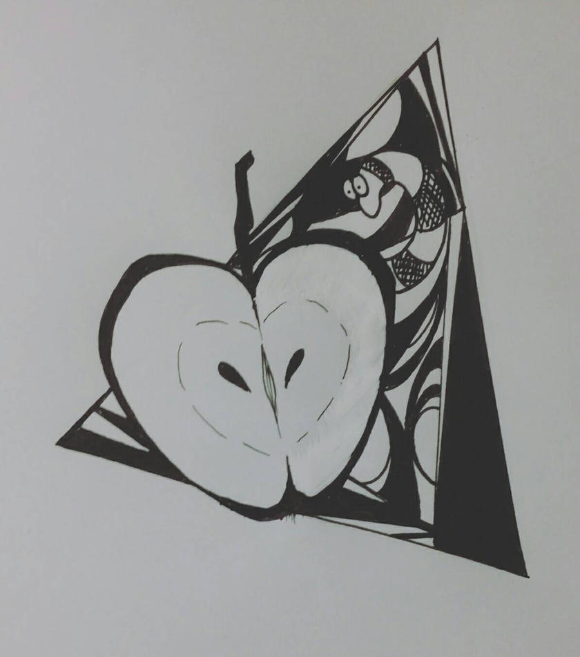 APPLE TRIANGLE. by Xe-none