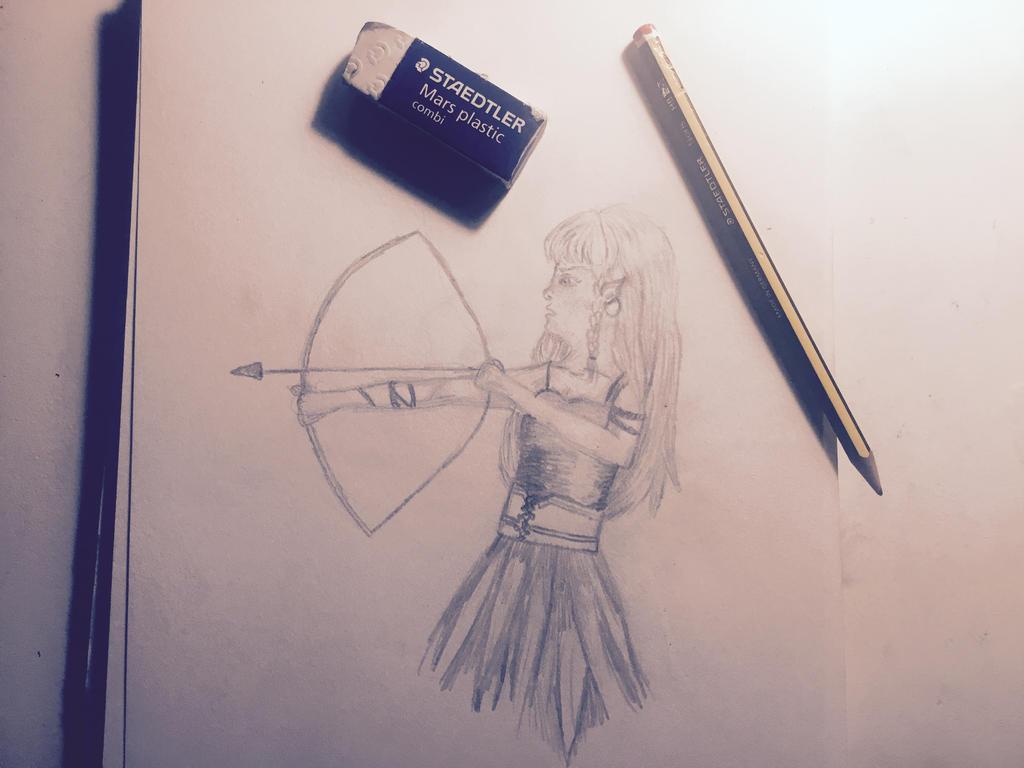 Bow and arrow by siri4321