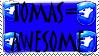 Tomas Stamp by blackstarfairyfiend