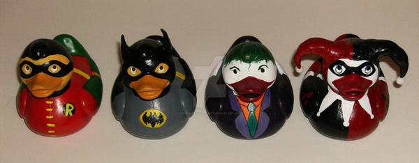 The Gotham Ducks by BlueSaltwaterTaffy