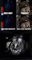 Faceless Bonnie's secret